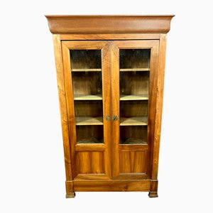 Louis Phillipe Blond Wood Bookcase