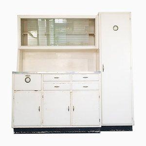 Vintage Italian Wood Kitchen Cupboard, 1950s