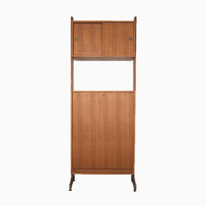 Vintage Single Pull-Out Bed Cabinet, 1960s