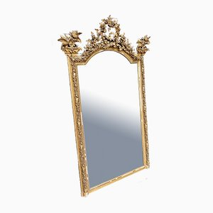 Large French Gilt Wall Mirror