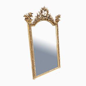 Specchio da parete grande dorato, Francia