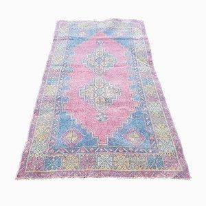 Kleiner Türkischer Usbekischer Ouschak Teppich, 1970er