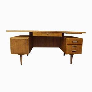 Teak Desk from Deutsche Werkstätten, 1960s