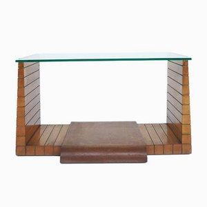 Table Basse Rationaliste Attribuée à Osvaldo Borsani pour Atelier Borsani Varedo, 1940s