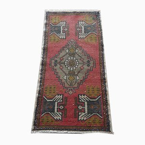 Small Turkish Decorative Handmade Rug, 1970s