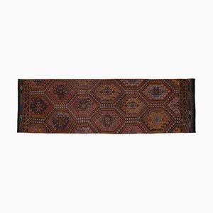 Türkischer Vintage Jajim Läufer Teppich, 1970er