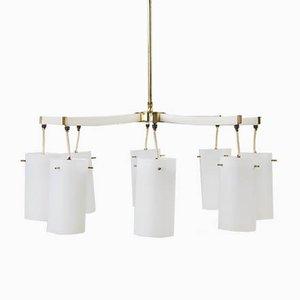 Lámpara de araña de Vereinigte Werkstätten Collection, años 60
