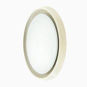 Round Teak Mirror from CRB, 1960s