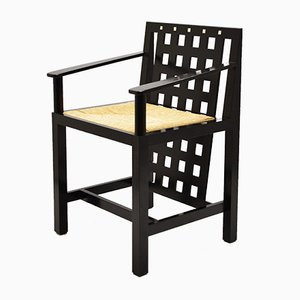 DS3 Dining Chairs by Charles Rennie Mackintosh for Cassina, 1975, Set of 4
