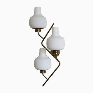 Wandlampe von Stilnovo, 1950er
