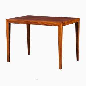 Mid-Century Danish Rosewood Coffee Table by Severin Hansen for Haslev Møbelsnedkeri, 1960s