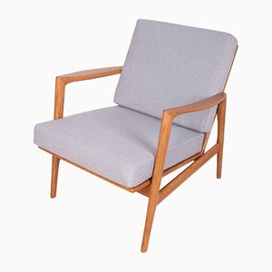 Model 300-139 Armchairs from Swarzedz Furniture Factory, 1960s, Set of 2