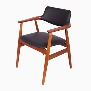 Teak Model GM11 Dining Chairs by Svend Åge Eriksen for Glostrup, 1950s, Set of 6