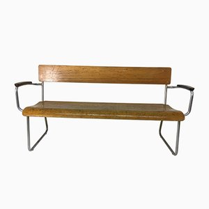 Bench by Willem Hendrik Gispen for Gispen, 1930s