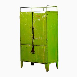 Industrial Iron Cupboard, 1960s