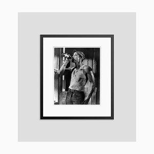 Brando as Stanley 1951 Archival Pigment Print Framed in Black by Cineclassico & Alamy Archives