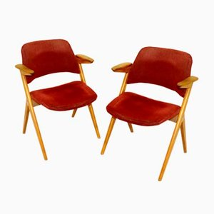 Dining Chairs by Bengt Ruda for Nordiska Kompaniet, 1950s, Set of 2