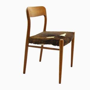 Modell 75 Stuhl von Niels Otto Møller für JL Møllers, 1970er
