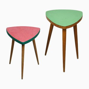 Mid-Century Nesting Tables, Set of 2