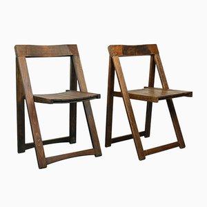 Chaises Pliables par Aldo Jacober, 1960s, Set de 2