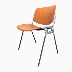 106 Schreibtischstuhl von Giancarlo Piretti für Castelli / Anonima Castelli, 1960er