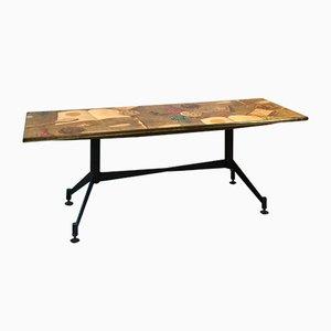 Tavolino da caffè Mid-Century di Atelier Fornasetti & Gio Ponti
