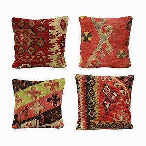 19th Century Kilim Cushions, Set of 4