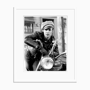 The Wild One 1954 Archival Pigment Print Framed in White by Everett Collection
