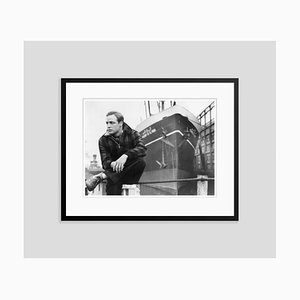 Brando on the Waterfront 1954 Archival Pigment Print Framed in Black by Glasshouse Images & Alamy Archives