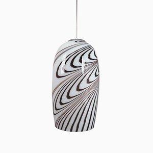 Italienische Vintage Murano Glas Deckenlampe von Vetrati