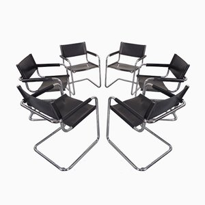 MG5 Cantilever Armchairs by Mart Stam for Jox Interni, 1970s, Set of 6
