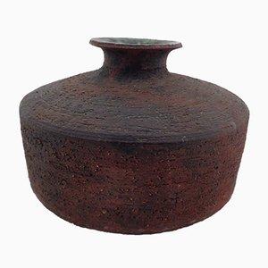 Mid-Century Ceramic Vase by Gerhard Liebenthron, 1966
