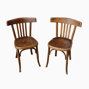Dining Chairs from Fischel, 1930s, Set of 2