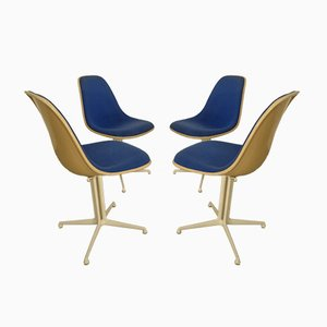 La Fonda Side Chairs from Charles & Ray Eames for Herman Miller, 1970s, Set of 4