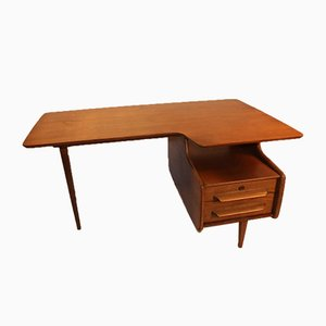 Desk by Jacques Hauville for Bema, 1950s