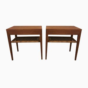 Nightstands by Severin Hansen for Haslev Møbelsnedkeri, 1960s, Set of 2