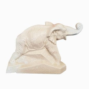 Elephant Sculpture by Emaux de Louvière
