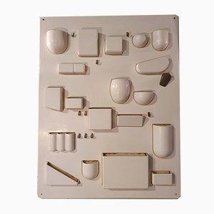 Organizador de pared de Dorothee Becker para Design M, 1969