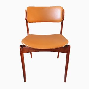 Rosewood Dining Chairs by Erik Buch for Odense Maskinsnedkeri / O.D. Møbler, 1960s, Set of 8