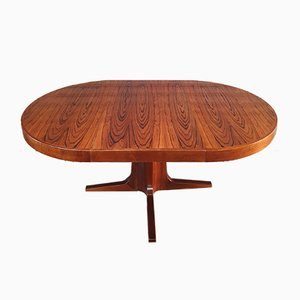 Rosewood Dining Table by Luigi Bartolini , 1960s