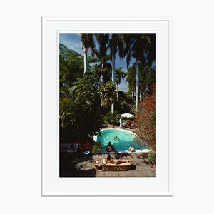 Mazatlan Mansion Oversize C Print Framed in White by Slim Aarons
