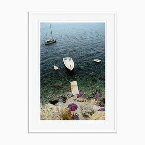 Porto Ercole Oversize C Print in Weiß von Slim Aarons
