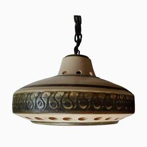 Vintage Ceramic Pendant Lamp, 1960s