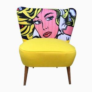 Pop Art Clubsessel, 1950er