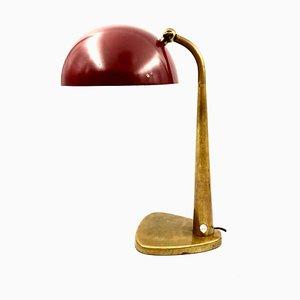 Lámpara de escritorio italiana de Stilnovo, Milan, años 50