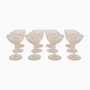Tableware Set from Baccarat, 1920s, Set of 12