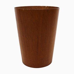 Cubo sueco de teca de Servex, años 60