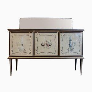 Mobiletto di Umberto Mascagni per Harrods London, anni '50