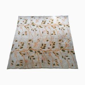 Handgewebter Mid-Century Teppich aus Wolle, 1970er