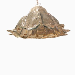 Bell Shaped Murano Glass Pendant Lamp